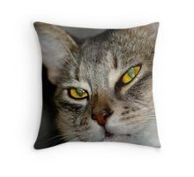 What you doing Throw Pillow