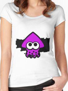 Splatoon Squid (Purple) Women's Fitted Scoop T-Shirt
