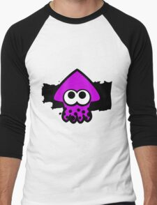 Splatoon Squid (Purple) Men's Baseball ¾ T-Shirt