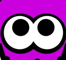 Splatoon Squid (Purple) Sticker