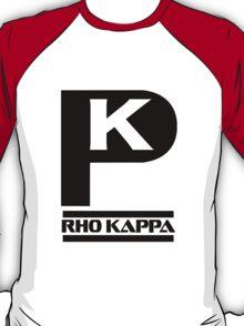 Rho Kappa Shirt Logo 2 T-Shirt
