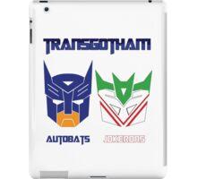 Batman and Transformers - TransGotham iPad Case/Skin