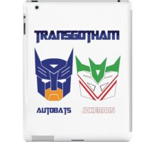 Batman and Transformers - TransGotham iPad Case/Skin