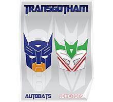 Batman and Transformers - TransGotham Poster