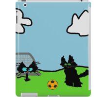 Kitten's Soccer Practice iPad Case/Skin
