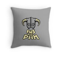 FUS RO DAH SKYRIM PRODUCTS Throw Pillow