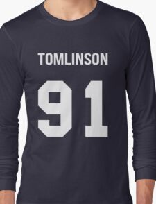 Louis Tomlinson - College Style [White] Long Sleeve T-Shirt