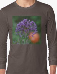Purple Sun Burst! Long Sleeve T-Shirt