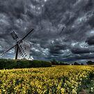 Aythorpe Roding Windmill by Nigel Bangert