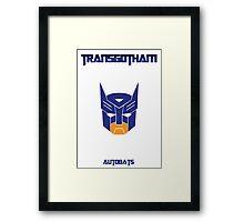 Batman and Transformers - Autobats Framed Print
