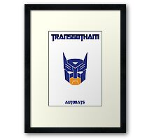 Batman and Transformers - Autobats Framed Print