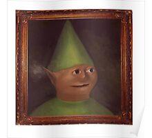 Gnome Child Portait Poster
