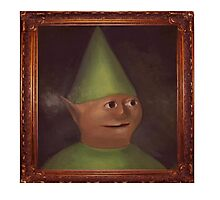 Gnome Child Portait Photographic Print