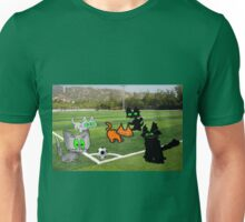 Cats Play Soccer Unisex T-Shirt