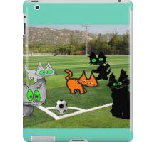 Cats Play Soccer iPad Case/Skin