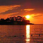 Jamaican Sunset by Rachel Stickney