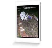 Unmarked Grave in Oldest Cemetery in New Orleans Greeting Card