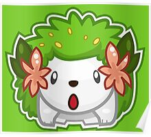 Shaymin Land Forme Poster