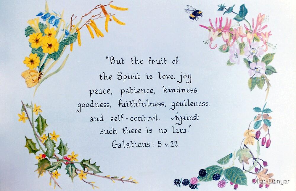 Fruit of the Spirit by Olive Denyer