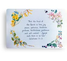 Fruit of the Spirit Canvas Print