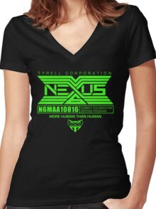 Nexus 6 Replicants Women's Fitted V-Neck T-Shirt
