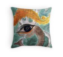the eternal om Throw Pillow
