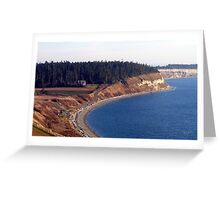 Ebey's Landing Three Greeting Card