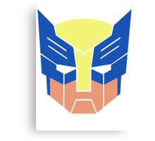 Wolverine Transformers Retro Style Canvas Print