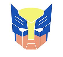 Wolverine Transformers Retro Style Photographic Print
