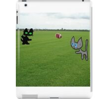 Cats Practice Football iPad Case/Skin