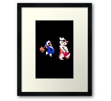 Ice Climber 2 Framed Print
