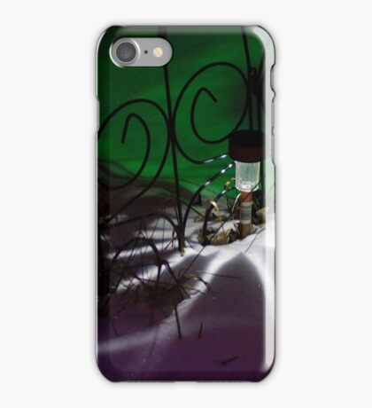 Spider Light in the Snow? iPhone Case/Skin