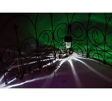 Spider Light in the Snow? Photographic Print