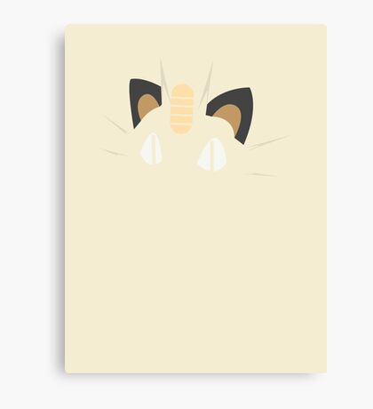Meowth Canvas Print