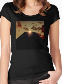2001: A Space Odyssey - Earth Monolith Women's Fitted Scoop T-Shirt