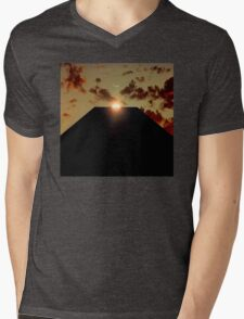 2001: A Space Odyssey - Earth Monolith Mens V-Neck T-Shirt