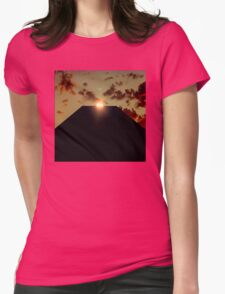 2001: A Space Odyssey - Earth Monolith Womens Fitted T-Shirt