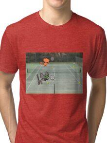 Tennis Cats Tri-blend T-Shirt