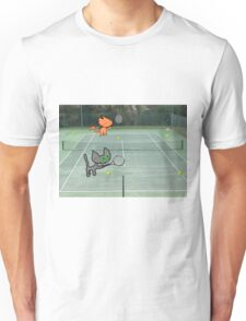 Tennis Cats Unisex T-Shirt