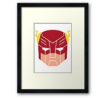 The Flash in Transformers Framed Print