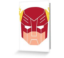 The Flash in Transformers Greeting Card