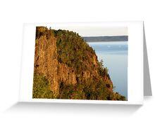 Red Rocks at Nipigon Bay Greeting Card