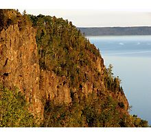 Red Rocks at Nipigon Bay Photographic Print