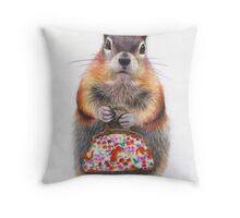 Mrs Peabody Throw Pillow