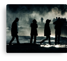Lost In Iceland Canvas Print