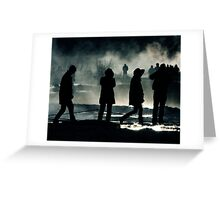 Lost In Iceland Greeting Card