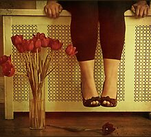 fifteen tulips by Angel Warda