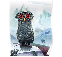 Tundra Owl Poster