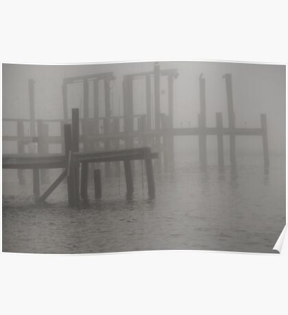 As The Fog Rolls In Poster