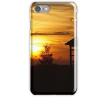 Sunset & Wood iPhone Case/Skin